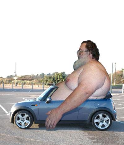 Fat in a car